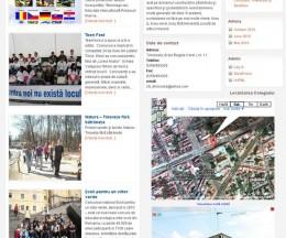 Site pe WordPress pentru un colegiu național din Timișoara