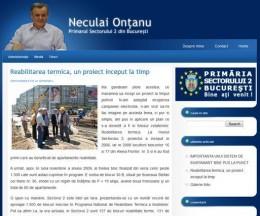 Blog personalitate politică: Neculai Onțanu
