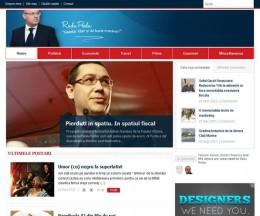 Site personal dezvoltat pe WordPress pentru analize și opinii