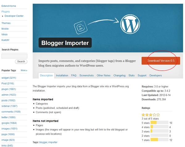 Ce probleme pot să apară la importul datelor de pe un cont Blogger pe un Wordpress