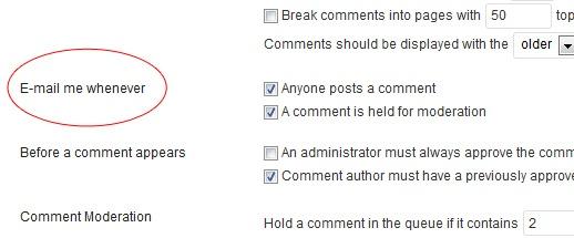 dezactivare-email-comentarii
