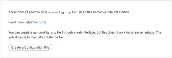 instalare wordpress primul pas