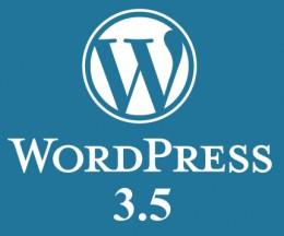 A apărut WordPress versiunea 3.5
