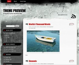 Greyzed WordPress Theme