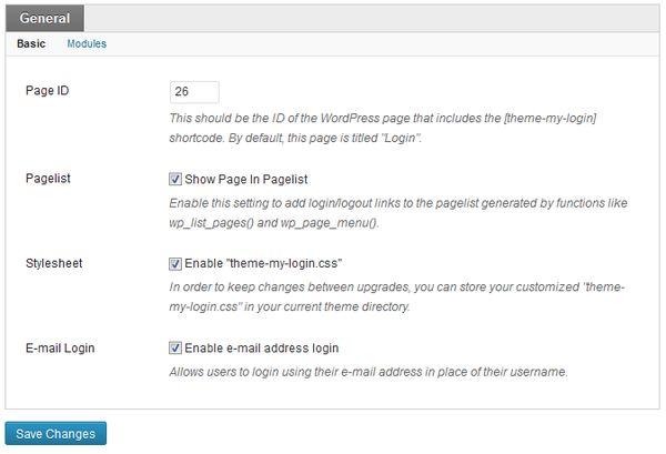 formular personalizat de autentificare în WordPress