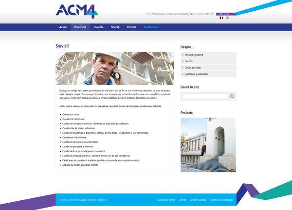 site pentru firma de constructii pe wordpress