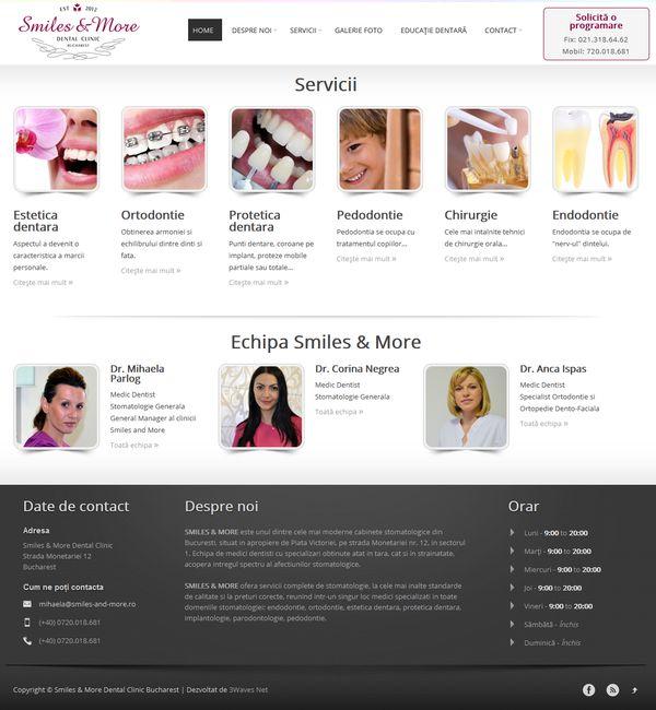 Cabinet stomatologie pe wordpress