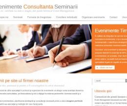 Site pe WordPress CMS pentru o firmă mică de consultanță