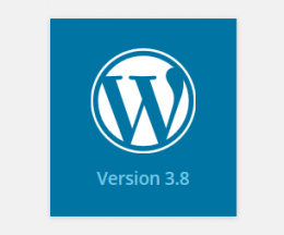 WordPress versiunea 3.8