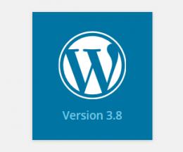 WordPress versiunea 3.8