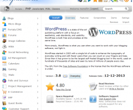 Cum se instalează WordPress din cPanel