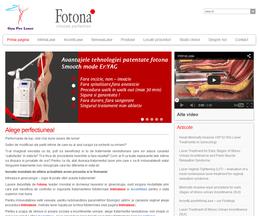 Site de prezentare pe wordpress pentru un distribuitor de aparatură medicală