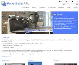 Site pe WordPress pentru un PFA