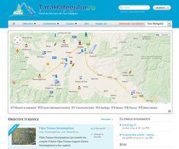 Țara Hațegului – un site de prezentare a unei zone turistice