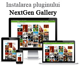 Instalarea pluginului NextGen Gallery – galerii foto în WordPress