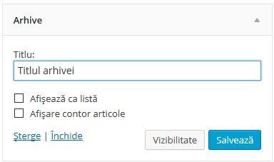 widgeturi-arhiva