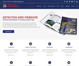 Site WordPress pentru o revistă tehnică