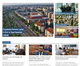 Vestic.ro – site mass-media pe WordPress