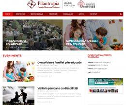 Fundația Filantropia, ONG pe WordPress