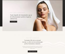 Termalum SPA – spa pe WordPress