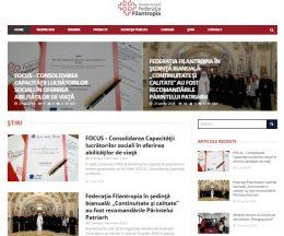 Federația Filantropia, un site al Patriarhiei Române